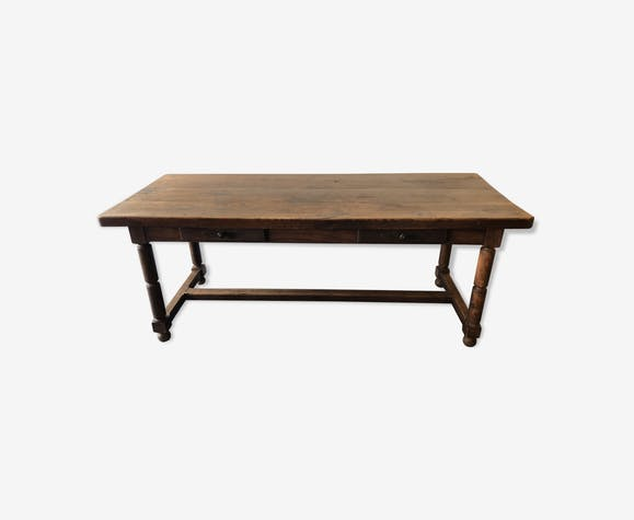 Old farm table 2 m chic countryside