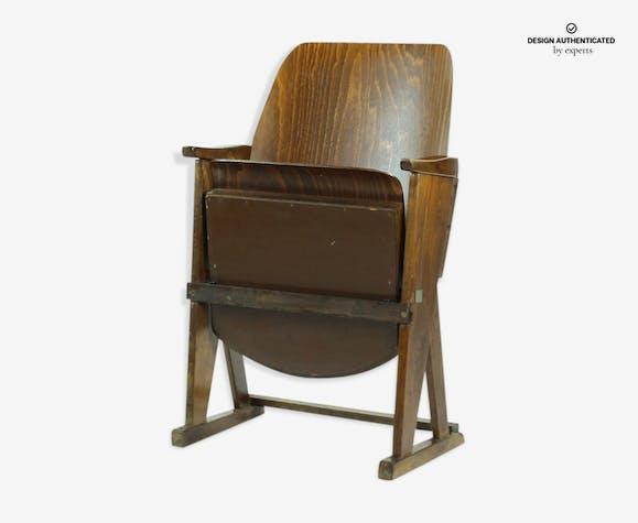 Single seat cinema bench by Ton, Czechoslovakia 1960s