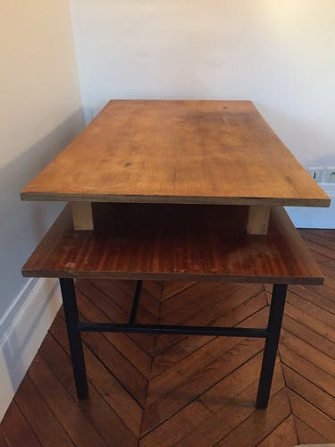 Asymmetrical vintage desk
