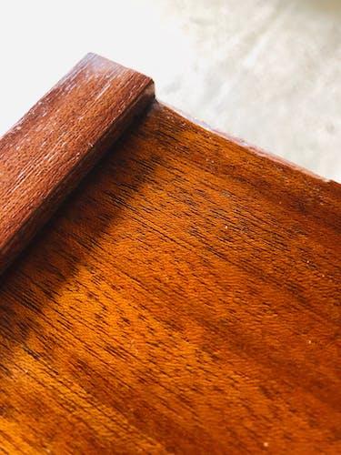 Commode vintage quatre tiroirs et 1 porte années 60