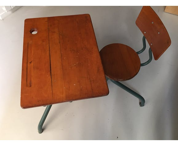 Bureau enfant en bois
