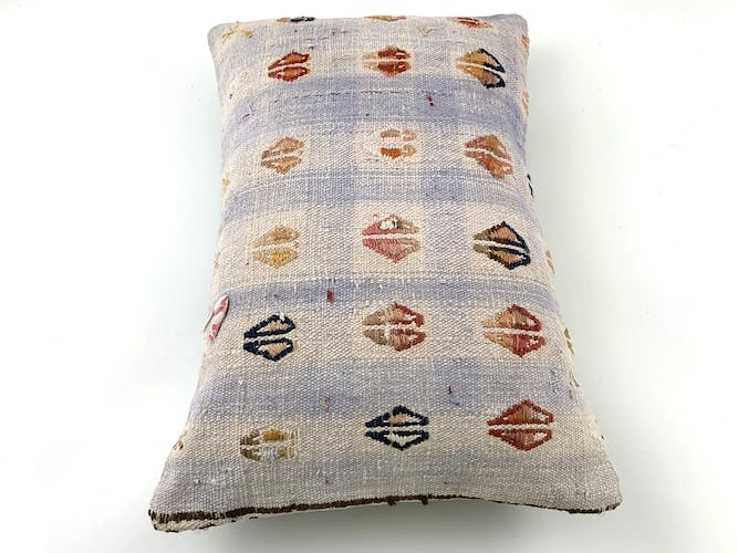 Handmade turkish kilim vintage cushion cover 40x60 cm
