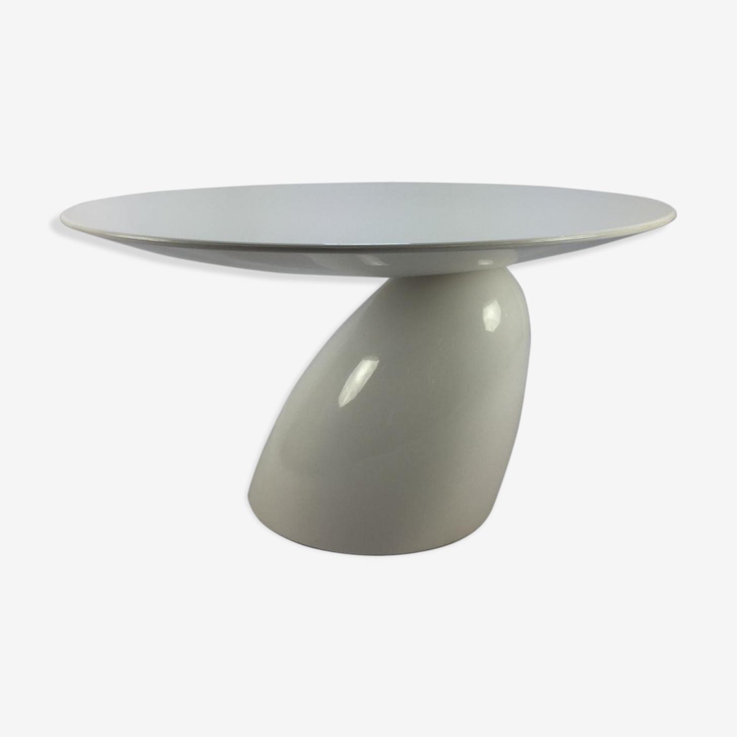 Table de salle à manger ronde parabole par Eero Aarnio, 2004
