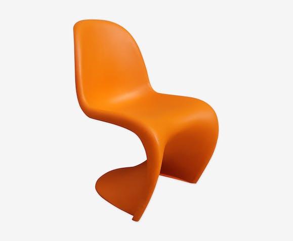 Panton Chair orange par Verner Panton pour Vitra