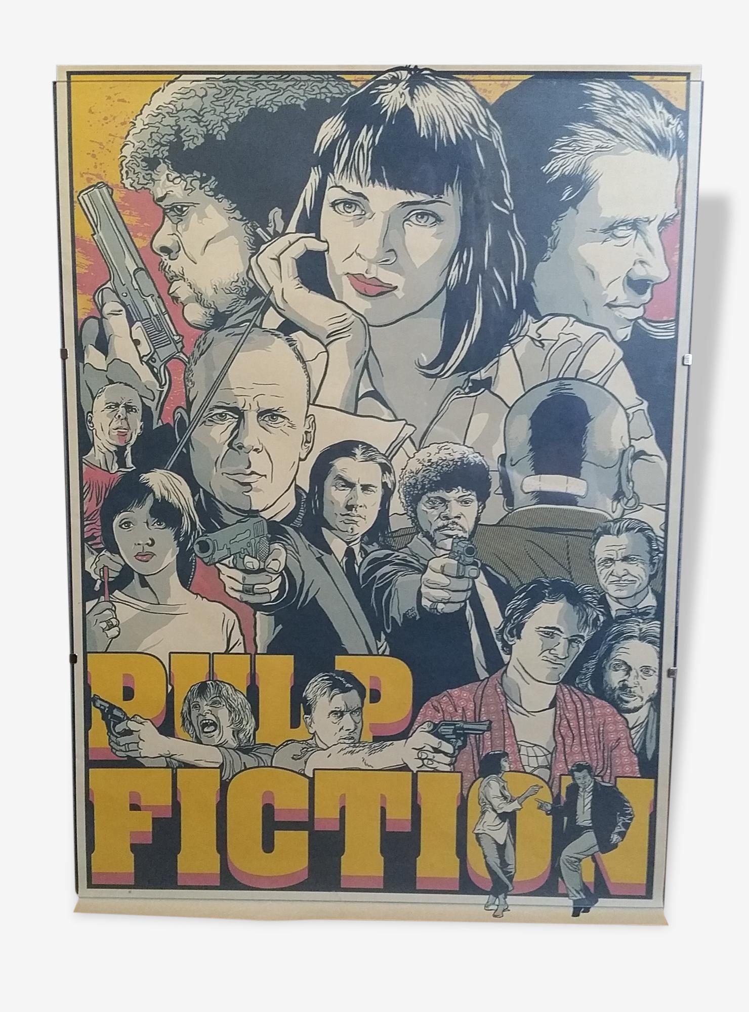 Affiche de film Pulp Fiction