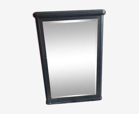Miroir trumeau  bois noir - 134x92cm