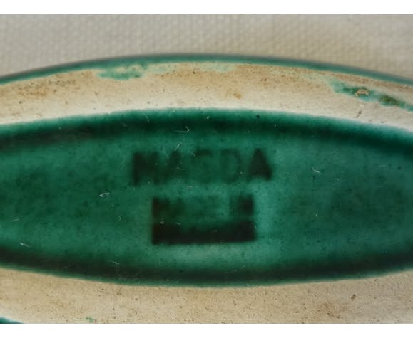 12 porte couteaux niceram en faiences vintage années 50