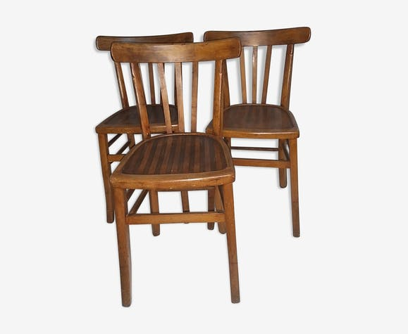 3 chaises bistrot  Luterma