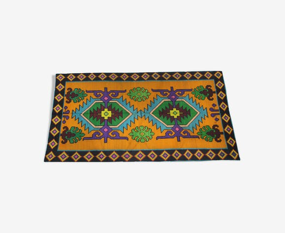 Tapis traditionnel roumain multicolore en laine 310x160cm