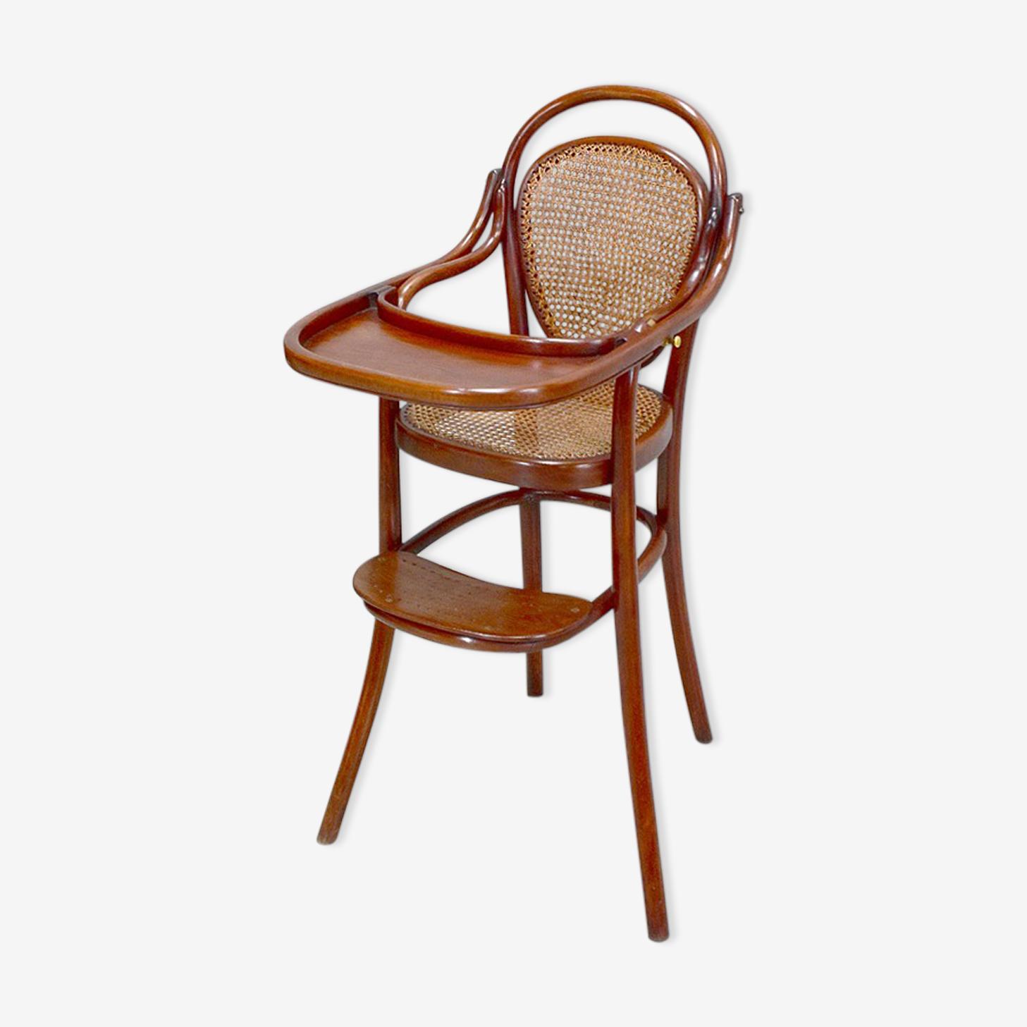Chaise haute de bébé marque Thonet XXème