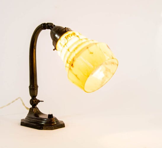 Art deco table lamp from the 1920s