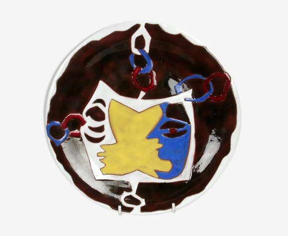 Jean Lurçat decorative plate
