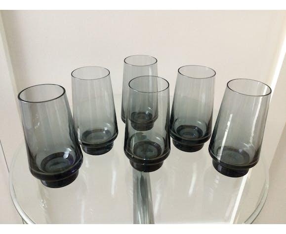 Set de 6 verres vintage, 1970