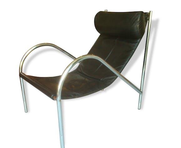 Relax Fauteuil Design.Fauteuil Relax Design 70 Cuir Selency