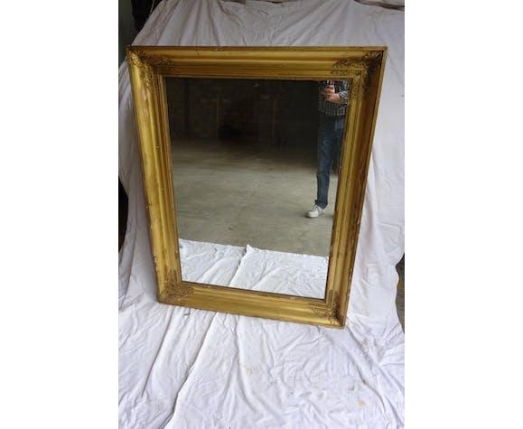 Miroir époque XIXème siècle Louis Philippe ou restauration 94,5x119,5cm