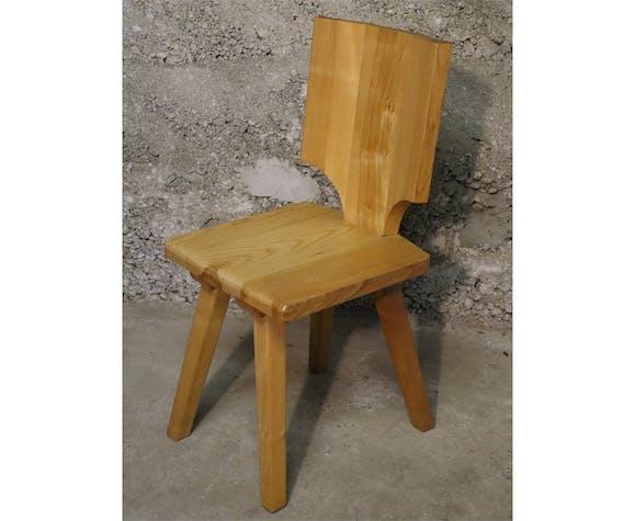 Chaise vintage en orme