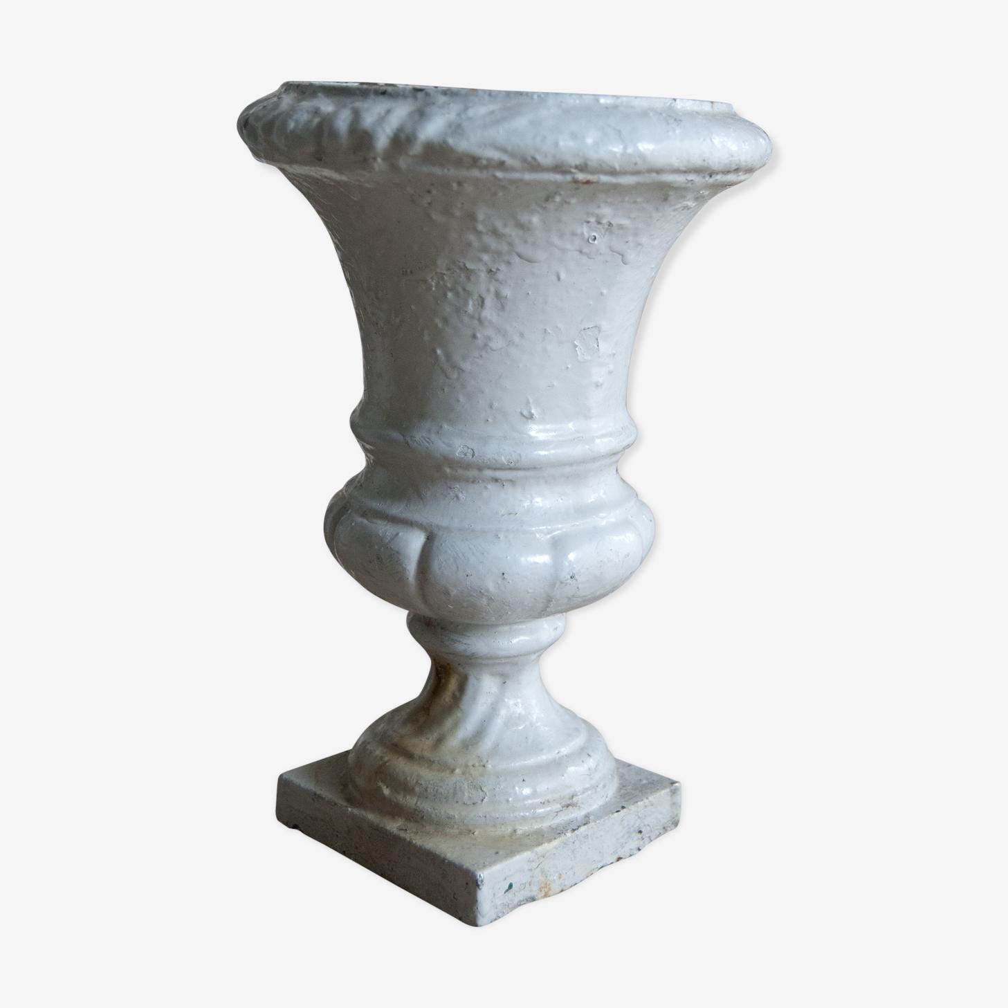 Vase Médicis ancien en fonte