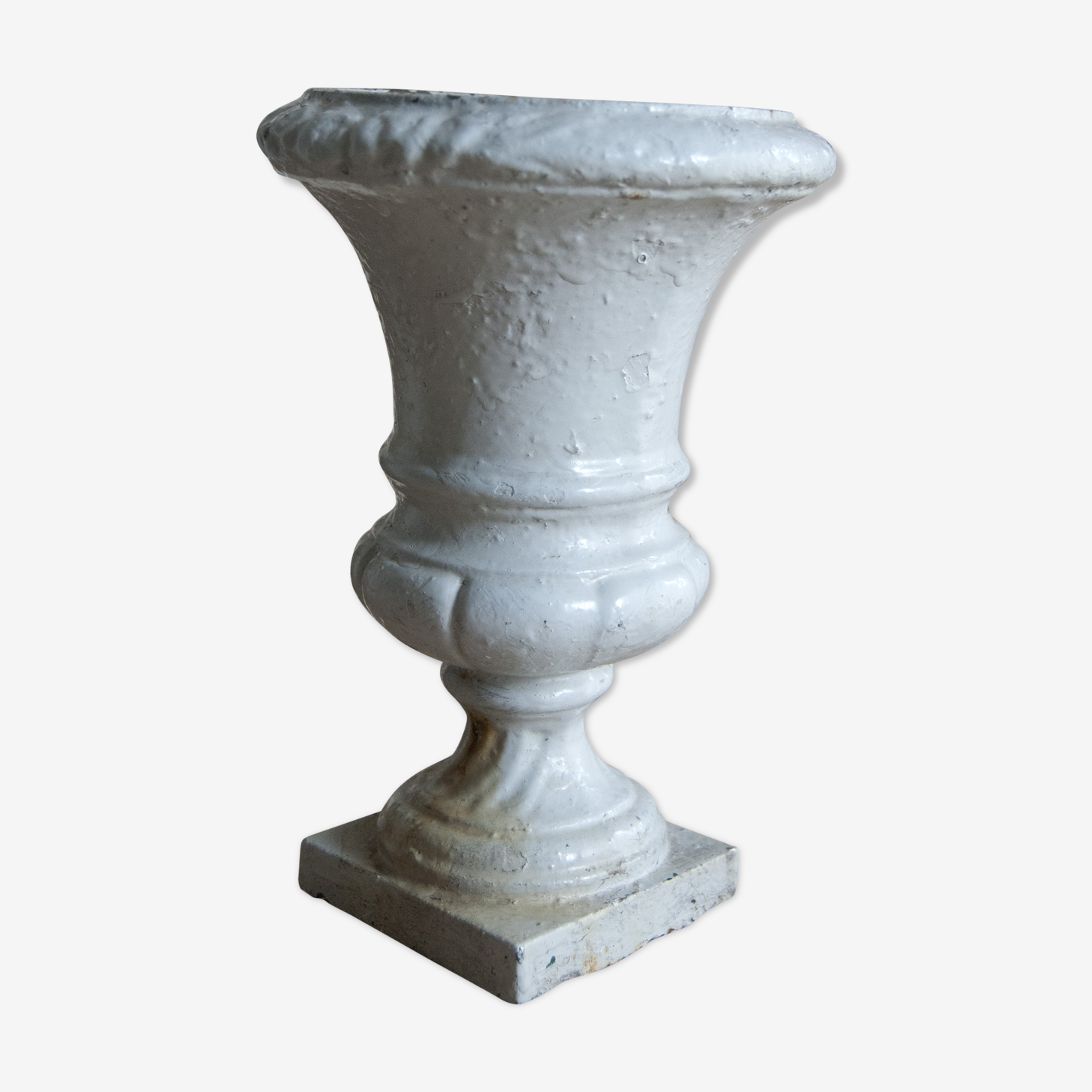 Vase old medici cast-iron