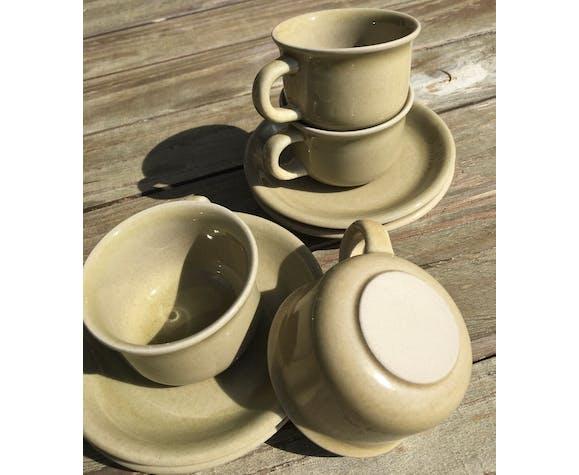 4 tasses à café