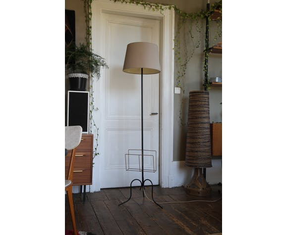 Vintage lamppost 170cm from the 50s