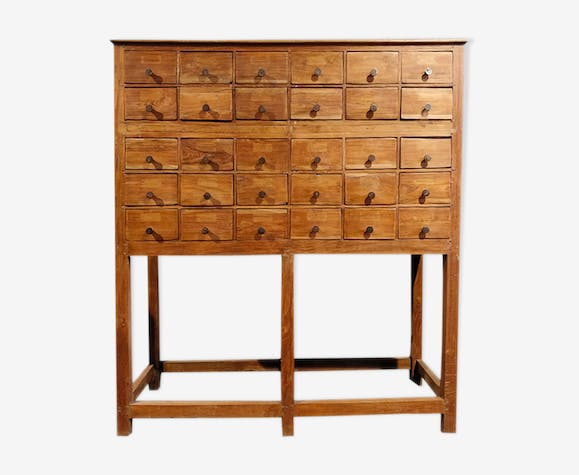 Artisan furniture with 30 drawers