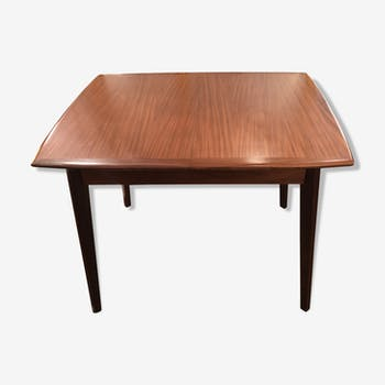 Table de salle manger vintage d 39 occasion for Table scandinave avec rallonge