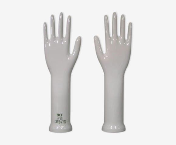 Paire de mains en porcelaine West Germany, années 60