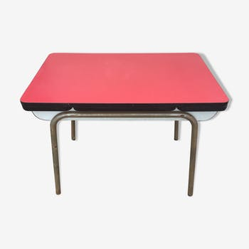 Table en formica extensible des années 60v