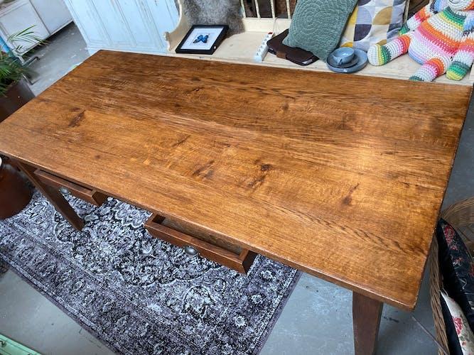 Table à manger hollandaise en chêne