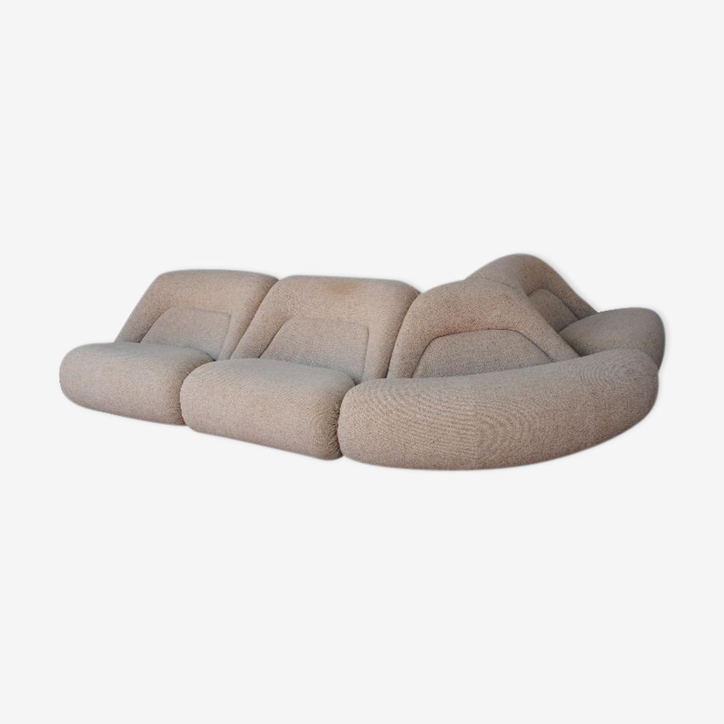 Canapé 1970 en laine