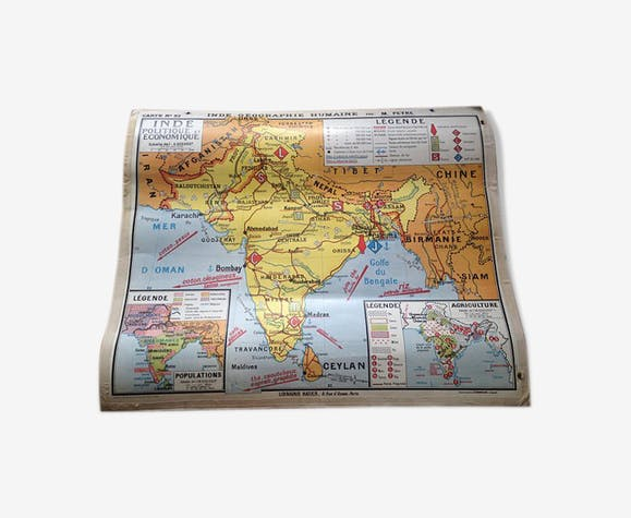 Map of the India