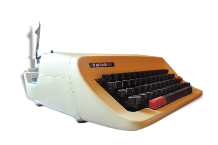 Machine à écrire mécanique Hermès
