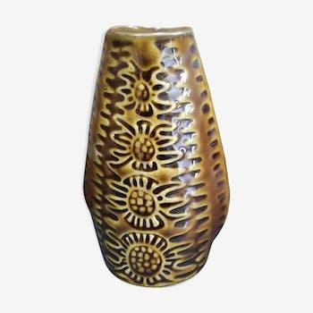 Vintage 1960s Polish ceramic vase