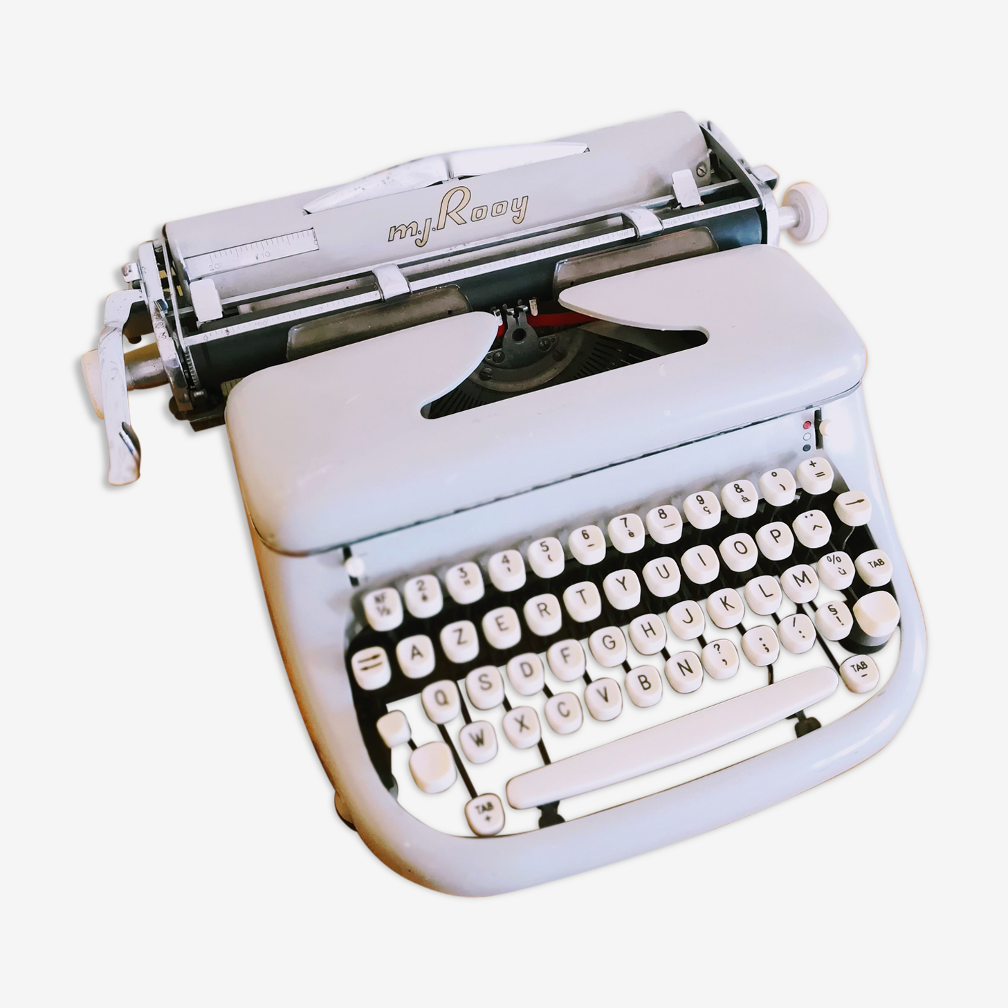 Machine à écrire m.j.Rooy