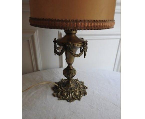 Lamp Lampshade in gilded bronze