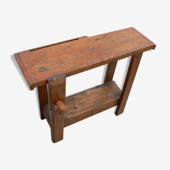 Former child wooden bench
