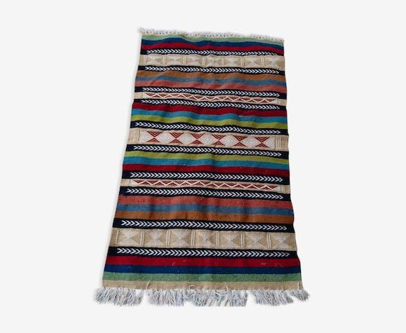 Tapis kilim multicolore 150x90cm