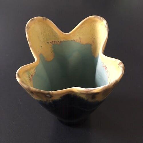 Vase flammé