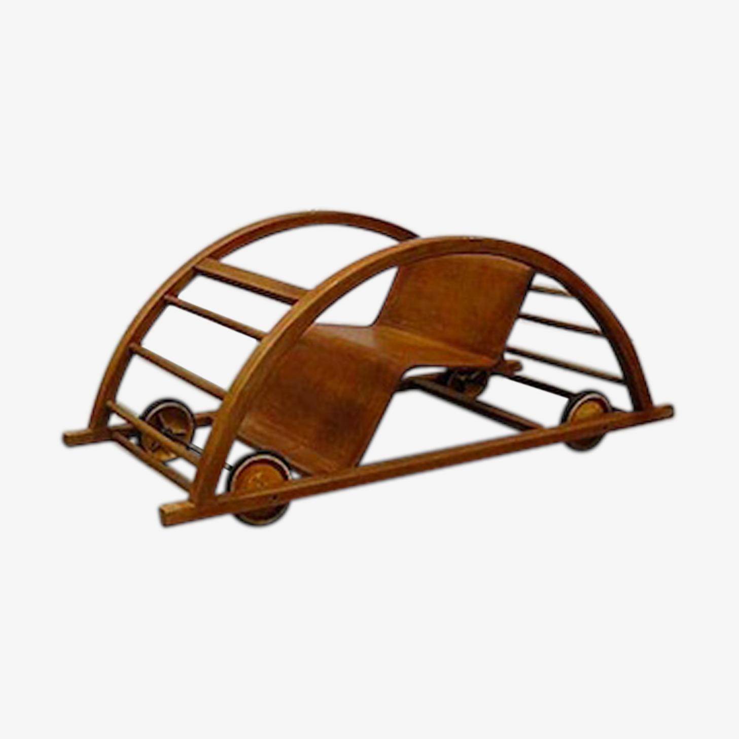 Rocking chair voiture Hans Brockhage
