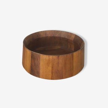 Danish bowl in solid teak wood 1960
