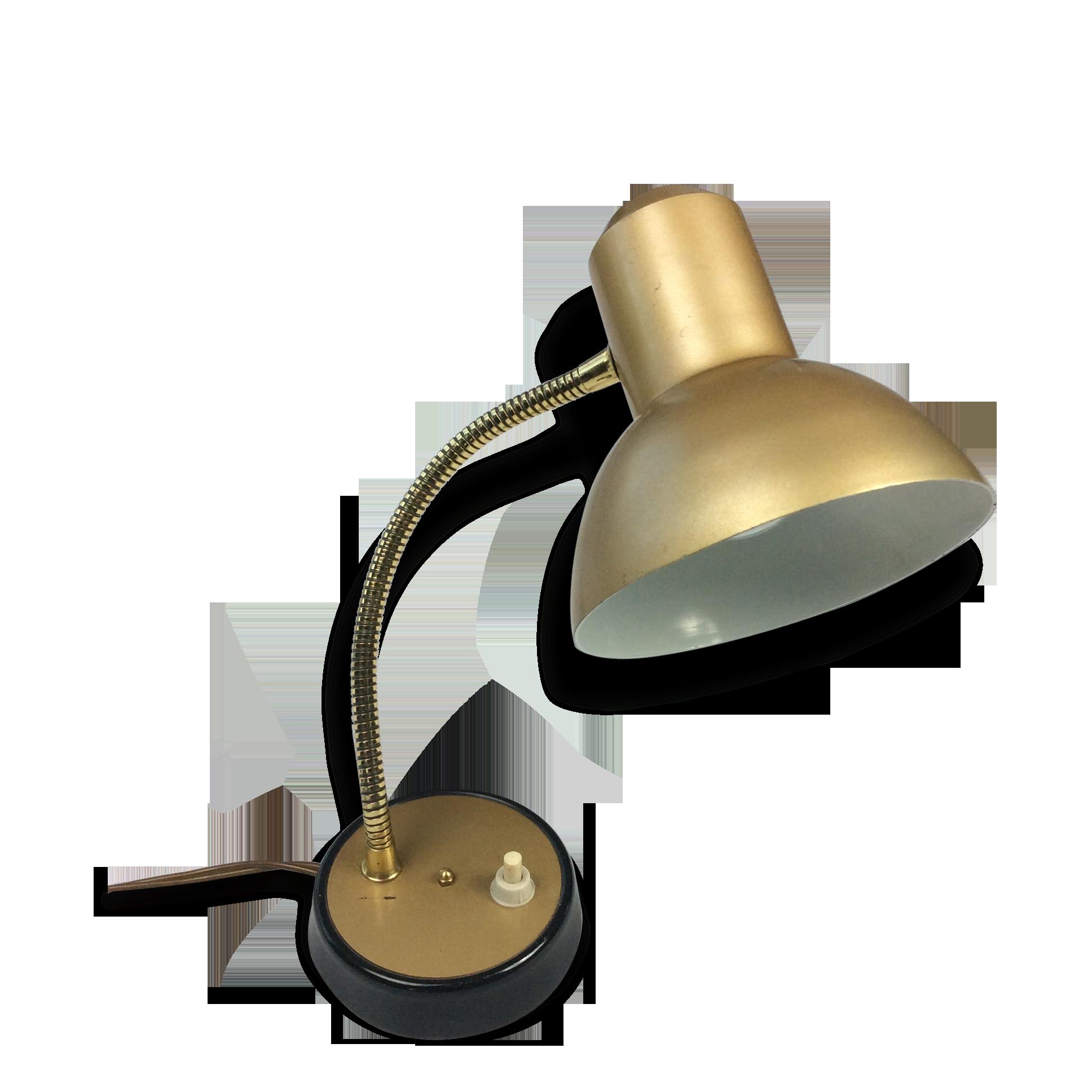 Dans le goût de la maison perzel petite lampe de bureau en laiton