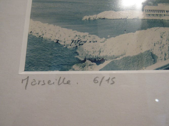 Photography of Marseille (la corniche) signed and numbered