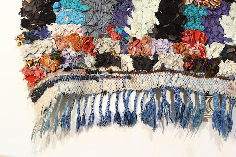 Carpet boucherouite 217 x 84 cm