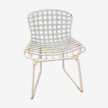 Chair Baby of Harry Bertoia, edition Knoll of the 1970s