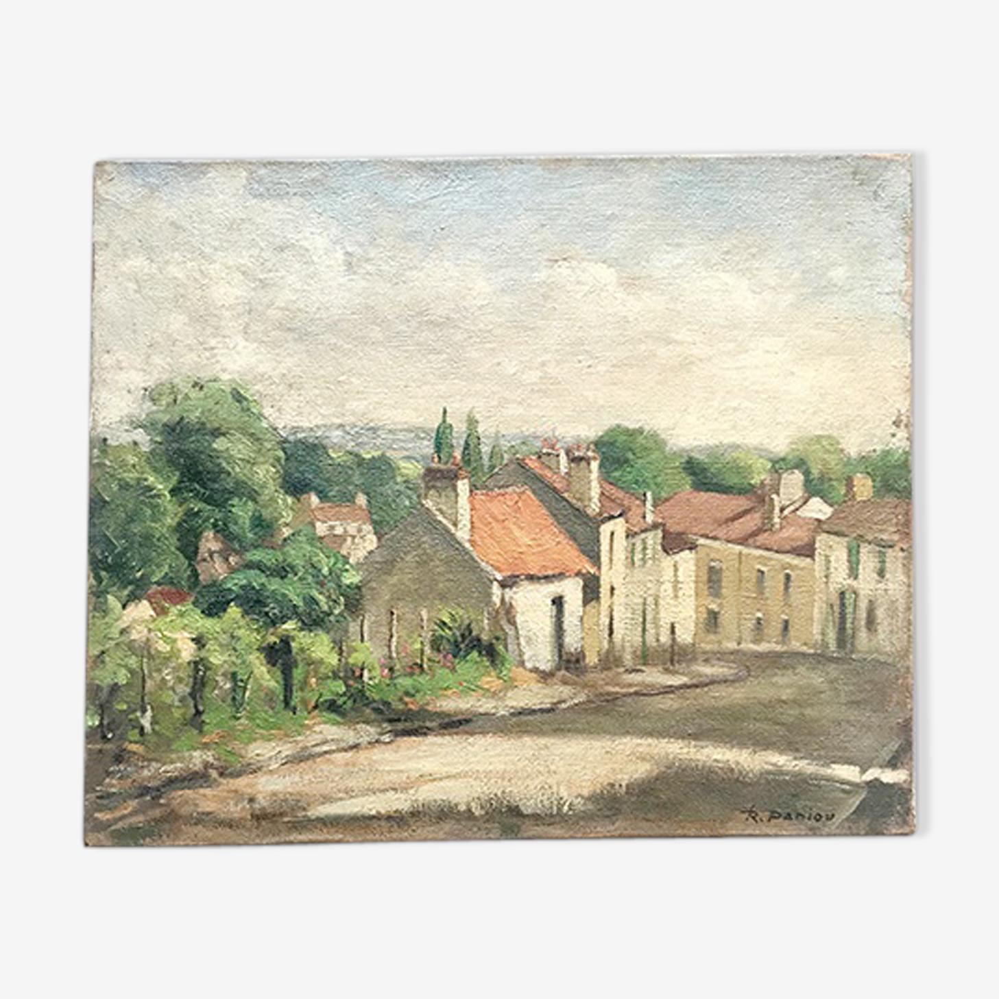 Picture of village lane