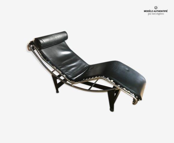 Chaise Cuir Longue Corbusier Design Lc4 Noir 0rmzgxr Le rdCxeWBo