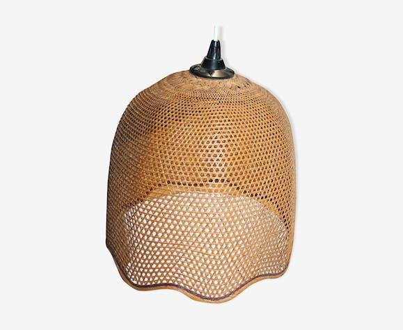 Suspension en bambou tressé