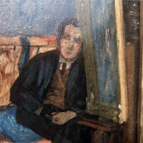"""Tableau """"L'atelier du peintre"""""""