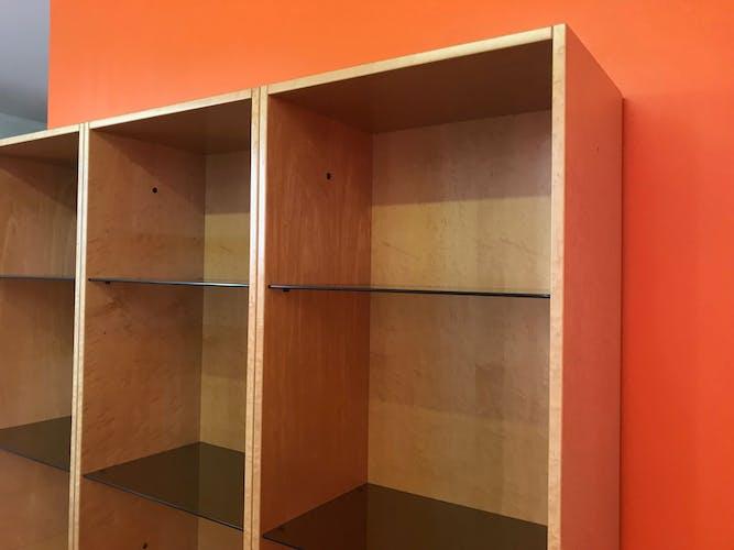Storage furniture by giovanni offredi for saporiti italia