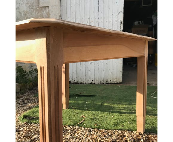 Wooden table, 50s